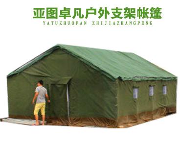 5*8施工帐篷-帆布棉帐篷
