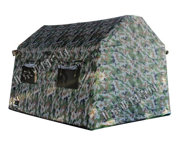 数码迷彩充气户外帐篷