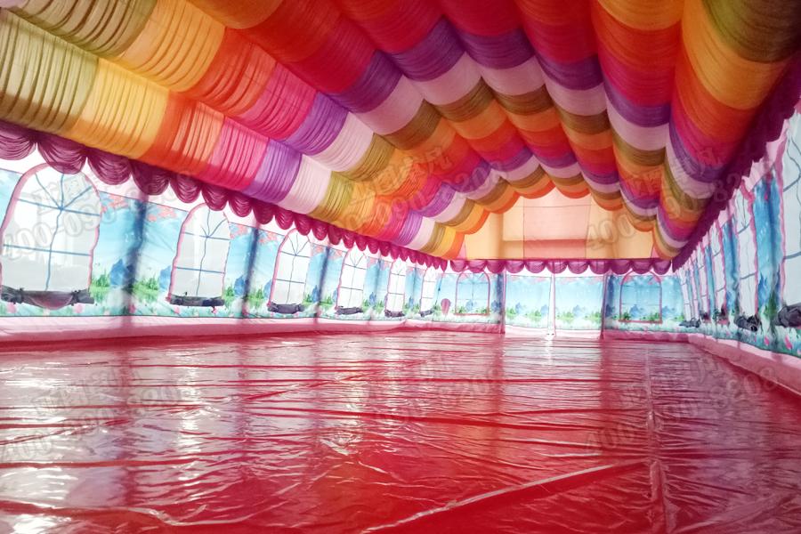 欧式婚宴婚庆充气帐篷