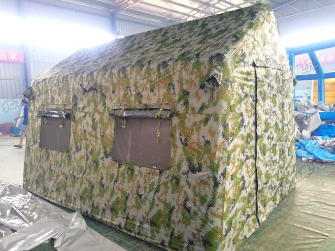 军用户外充气帐篷